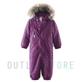 Reimatec winter overall Muhvi Beetroot