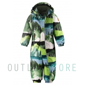 Reimatec winter overall PUHURI Dark green