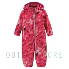 Reima softshell overall KOTILO Candy pink