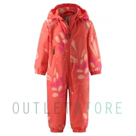 Reimatec overall, Drobble Coral pink,80 cm