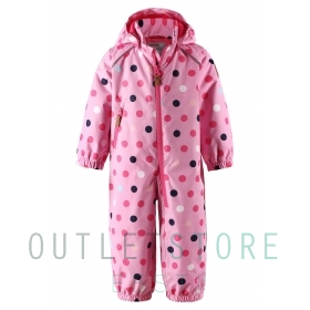 Reimatec light insulated spring overall Drobble Rose pink