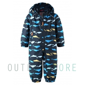 Reimatec light insulated spring overall Drobble Navy