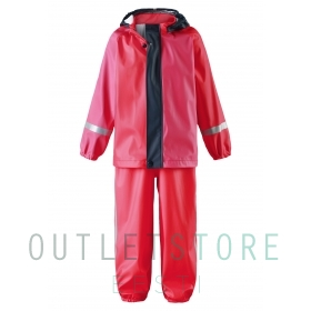 Reima toddlers rain outfit Tihku Red