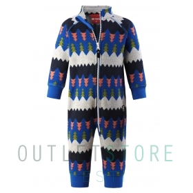 Reima Toddlers fleece overall Myytti Brave blue