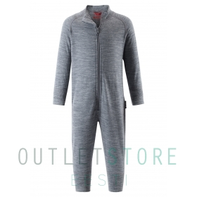 Reima wool all in one overall PARVIN Melange grey
