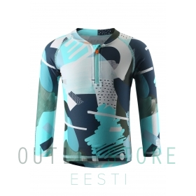Swim shirt, Tuvalu Light turquoise,86 cm