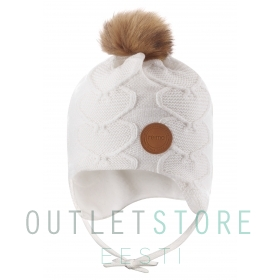 Reima winter beanie NEULOS White