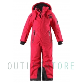 Reimatec winter overall REACH Strawberry red