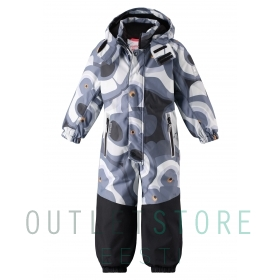 Reimatec winter overall Tornio Dark grey