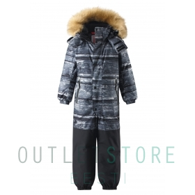 Reimatec® winter overall KIPINA Soft black