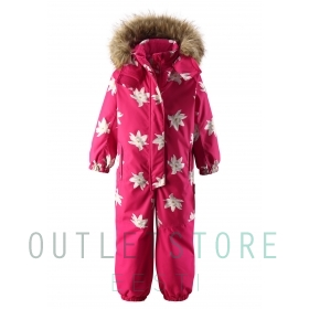 Reimatec winter overall OULU Raspberry pink