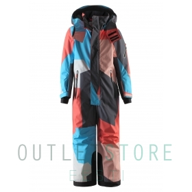 Reimatec winter overall REACH Bright salmon