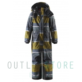 Reimatec winter overall REACH Yellow moss