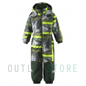 Reimatec® Kiddo winter overall SNOWY Dark green