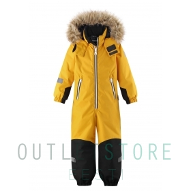 Reimatec® winter overall KROSSFJORDEN Warm yellow