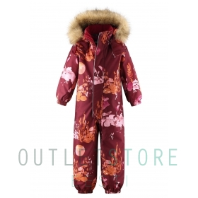 Reimatec winter overall TRONDHEIM Lingonberry red