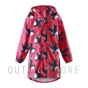 Reima raincoat USVA Strawberry red