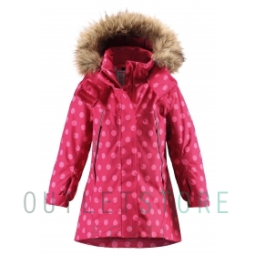Reimatec winter jacket Muhvi Cranberry pink