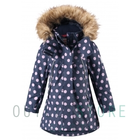 Reimatec winter jacket, Muhvi Black,92 cm