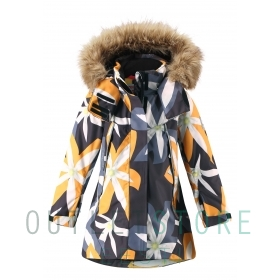 Reimatec winter jacket Muhvi Black