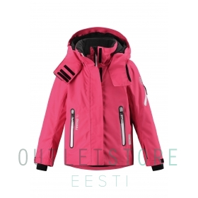 Reimatec winter jacket ROXANA Strawberry red