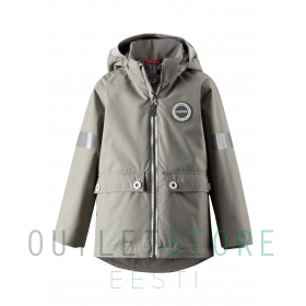 3-in-1 Reimatec waterproof jacket Sydvest Clay crey