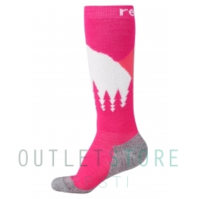 Reima wool blend socks Ski Day Raspberry pink