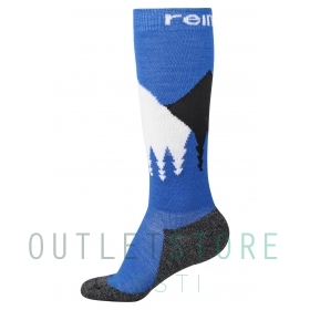 Reima wool blend socks Ski Day Brave blue