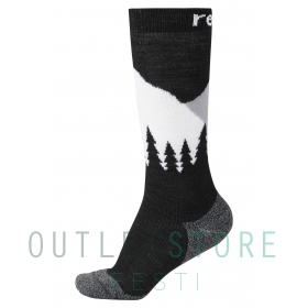 Reima wool blend socks Ski Day Black