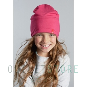 Reima beanie Lautta Strawberry red