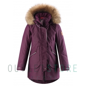 Reimatec® winter jacket INARI Deep purple