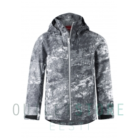 Jacket, Briknas Soft grey,128 cm