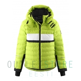 Reimatec winter jacket Alkhornet Lime green, size 140 cm