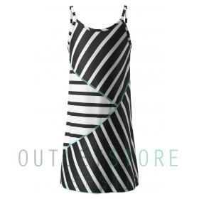 Dress, Badestrand Black,128 cm