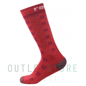Reima wool blend socks Ski Day Tomato red