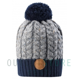 Reima winter beanie POHJOLA Navy