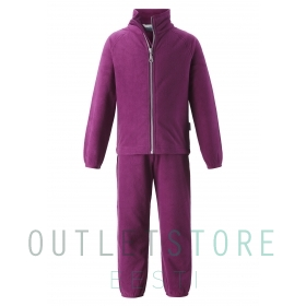 Lassie fleece set Saarni Boysenberry