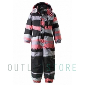 Lassietec winter overall Oulas Coral pink