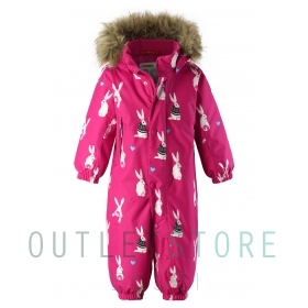 Reimatec® winter overall LOUNA Raspberry pink