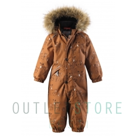 Reimatec winter overall LAPPI Cinnamon brown