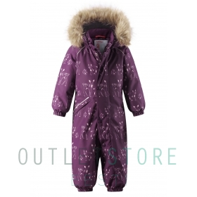 Reimatec winter overall LAPPI Deep purple