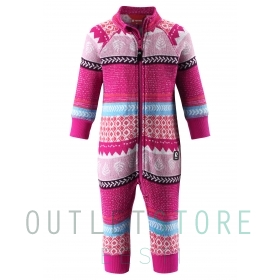 Reima Toddlers fleece overall Myytti Raspberry pink