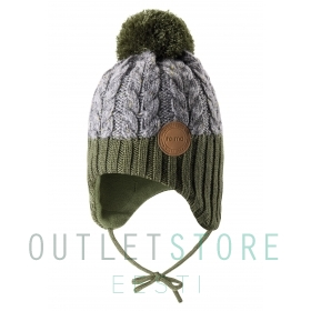 Reima winter beanie PAKKAS Khaki green