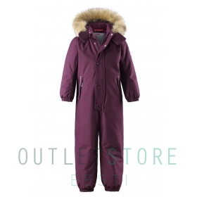 Reimatec® winter overall STAVANGER Deep purple