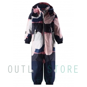 Reimatec® Kiddo winter overall SNOWY Old Rose