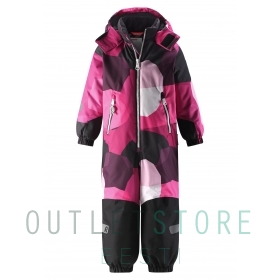 Reimatec® Kiddo winter overall SNOWY Raspberry pink