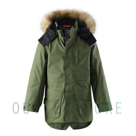 Reimatec® winter jacket NAAPURI Khaki green
