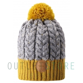 Reima winter beanie POHJOLA Dark yellow
