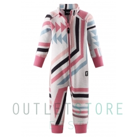 Reima Toddlers fleece overall Myytti Bubblegum pink