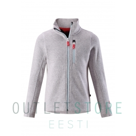 Reima fleese jacket MAARET Light melange grey